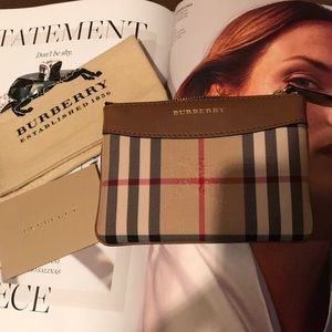 AUTHENTIC BURBERRY SMALL COIN/CARD CASE